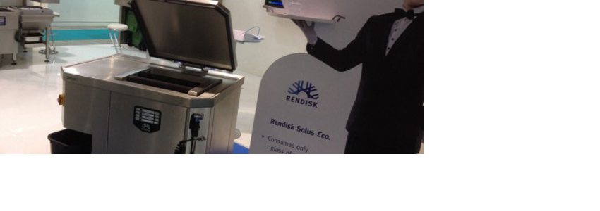 First picture of Rendisk Solus Eco at Host 2013 - Compact Waste Recycling Unit