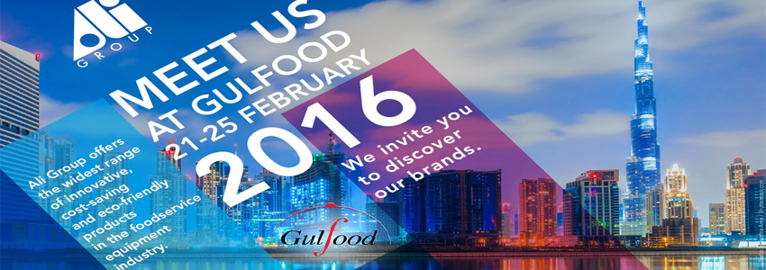Rendisk invites you to Gulfood 2016 - Visit us at Z5-C38