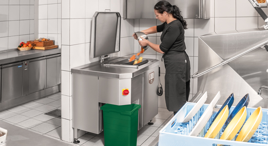 Rendisk Solus Eco - Stand Alone Waste Unit