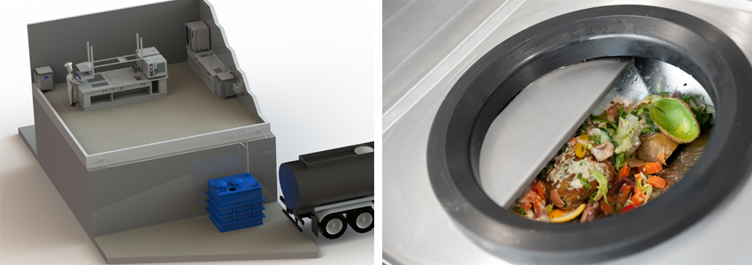 Rendisk Transfer Eco - The easy and clean modus to save waste and handling costs